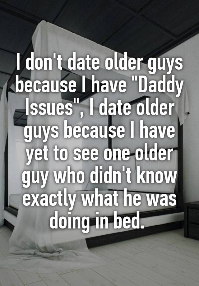 issues of dating an older man How to have a relationship with a much older man relationships are hard » commitment issues a-different-point-of-view-8-tips-on-dating-an-older-manhtml.