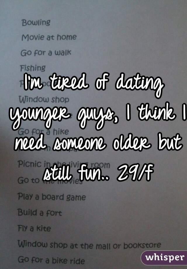im dating someone younger