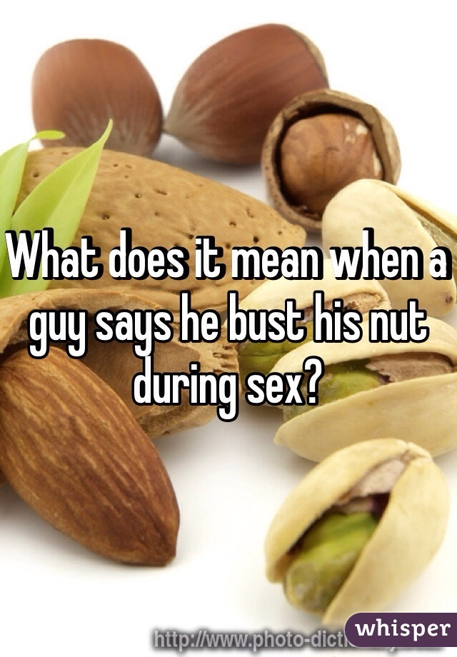 What Does A Guy Do During Sex
