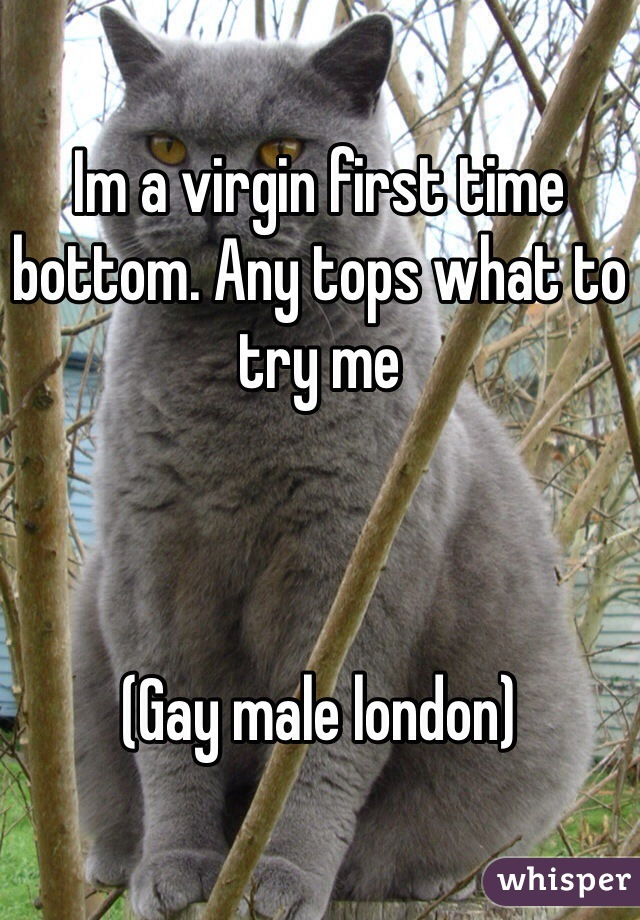 First time bottom gay