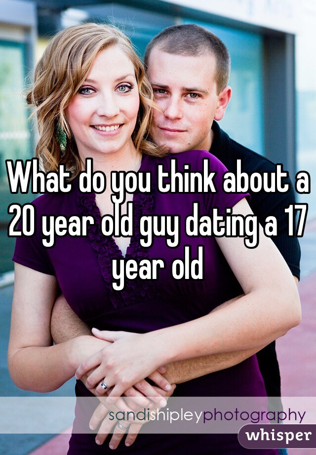 20 year old dating a 17 year old california