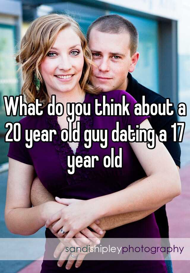 17 year old dating 20 year old