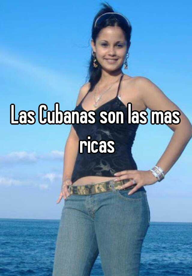 Cubanas Ricas