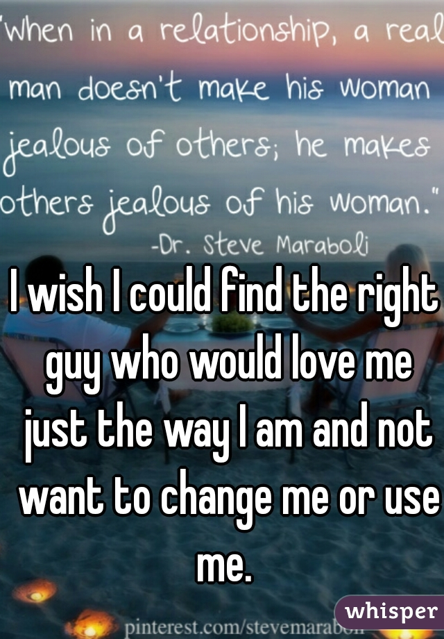 Am i with the right man