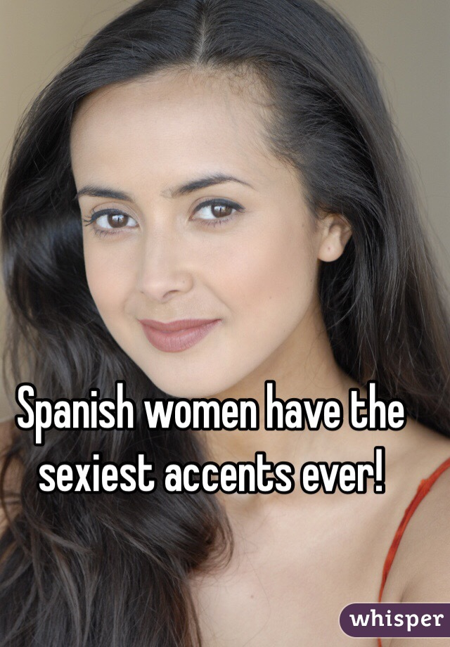 sexiest accents for women