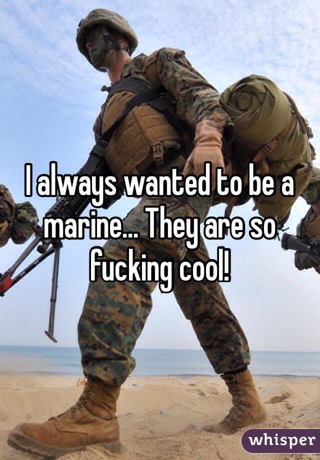 Fucking a marine