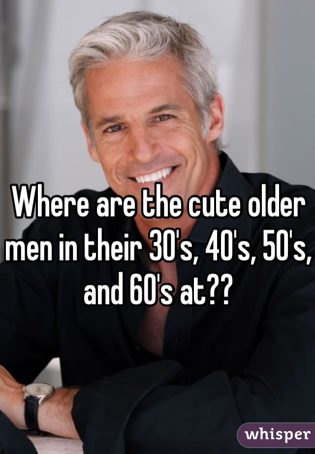 Dating guys in their 30s