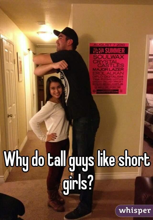 Tall guy dating short girl