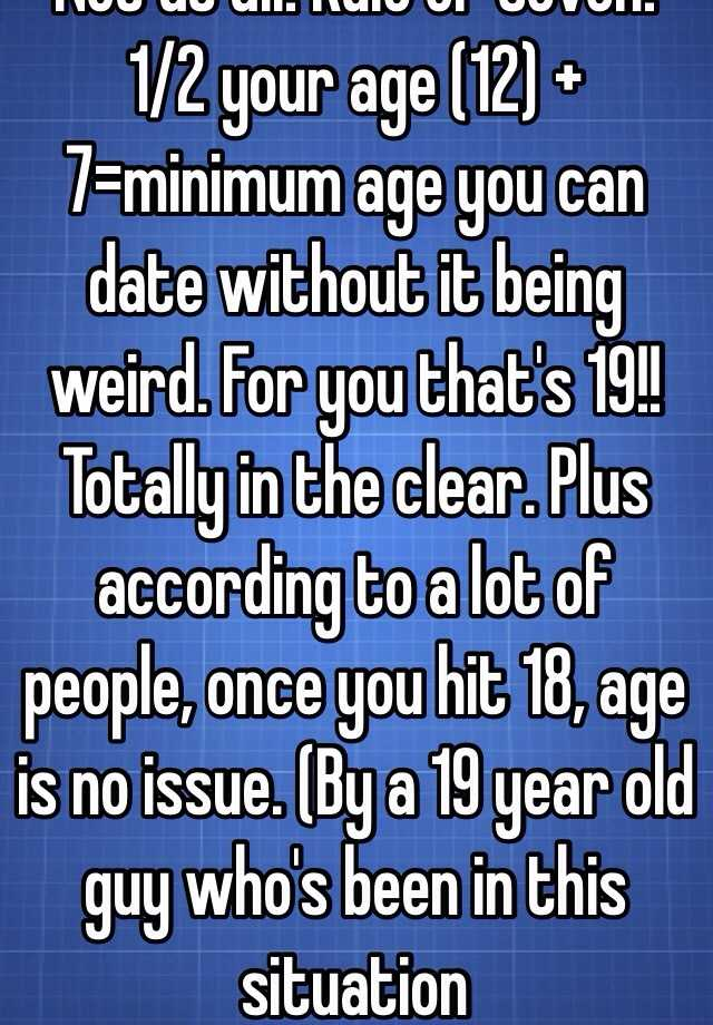 Dating someone a lot younger