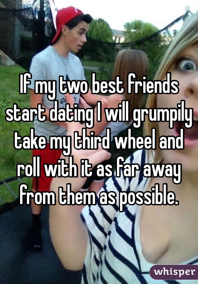 How to deal with two friends dating