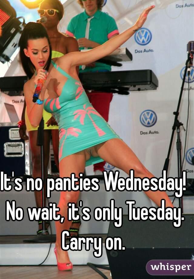 No Panties Thursday 107