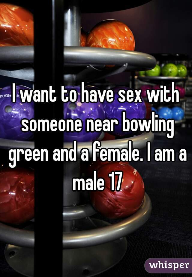 Opinion Sex party bowling green about one