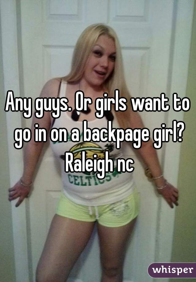 Backpage Raleigh