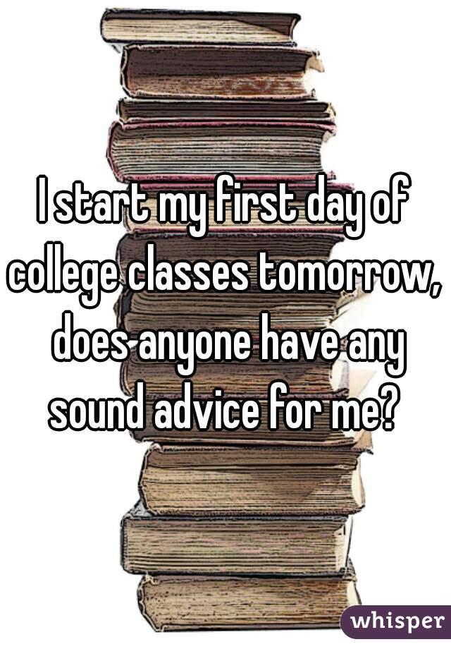 College advice anyone???