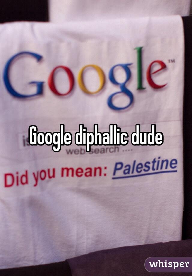 Diphallic dude