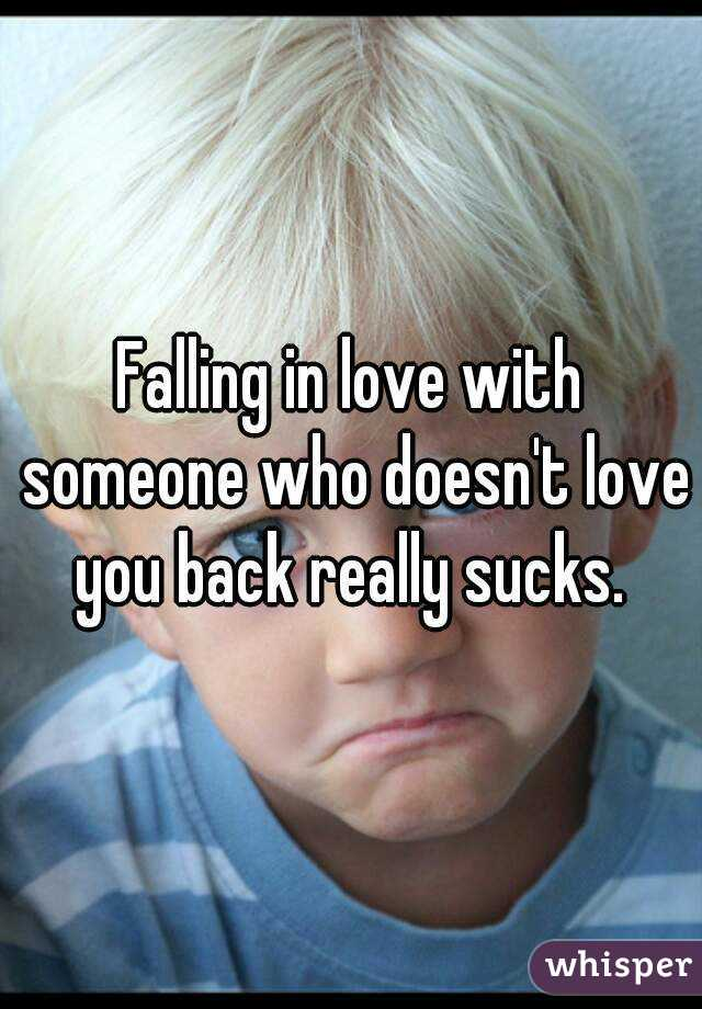 Dating someone who doesnt love you back
