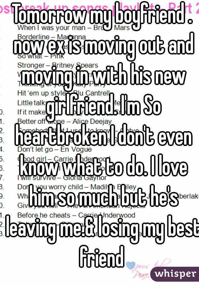 My ex is now dating my best friend