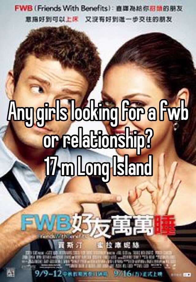 girls looking for fwb
