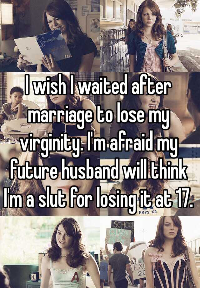 Right! Marriage and losing virginity remarkable, useful