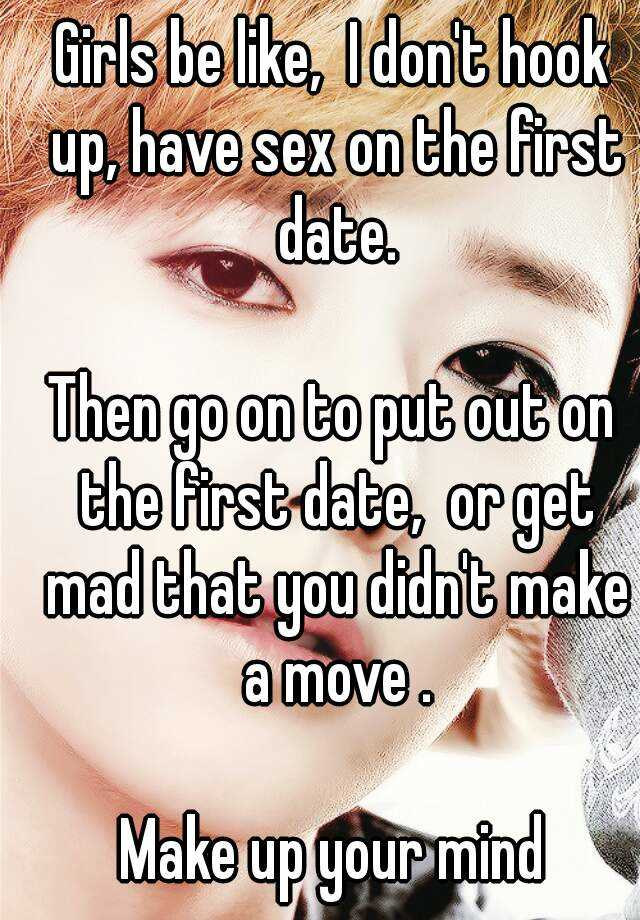 To hook up or date which gender benefits