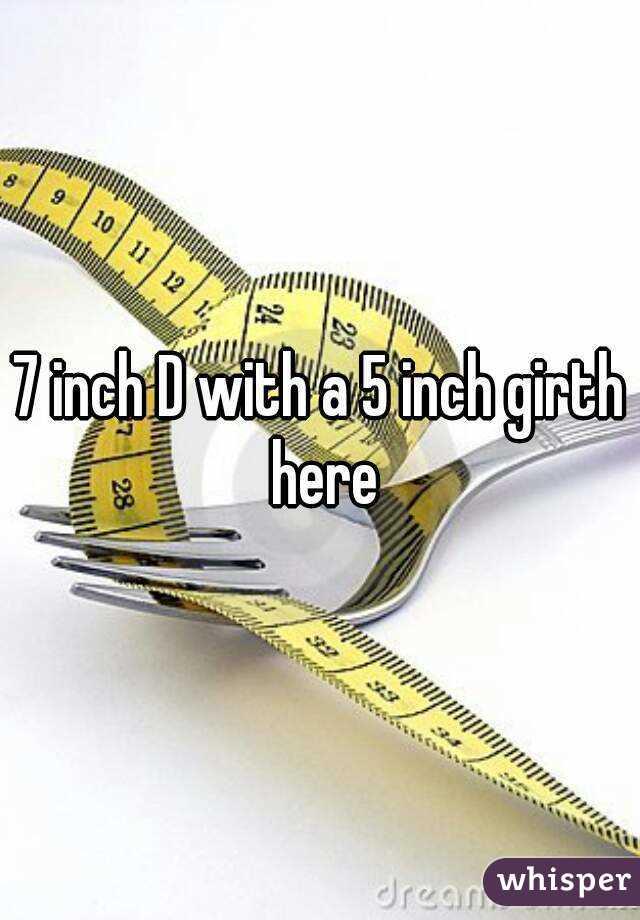 5 inch girth