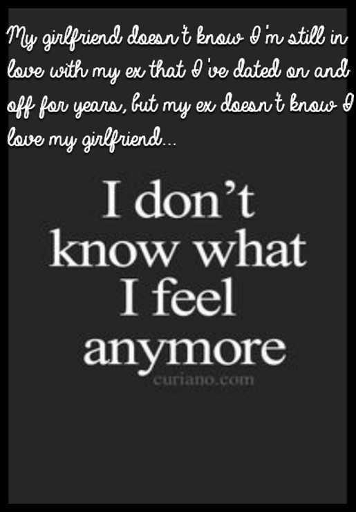 I Still Have Feelings For My Ex Girlfriend