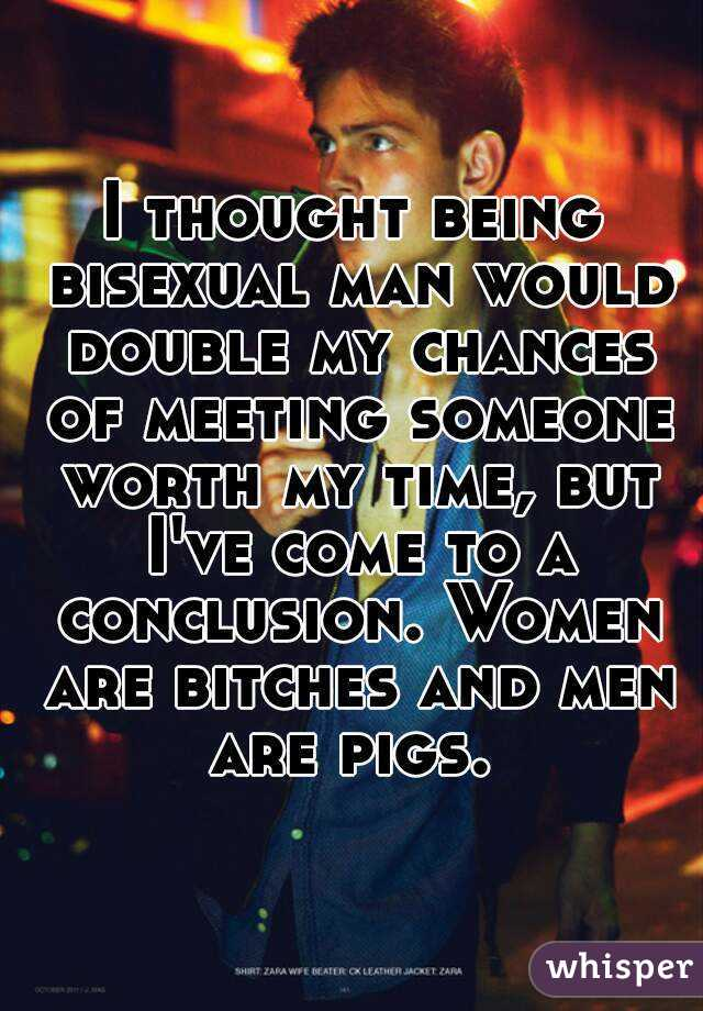 Meeting bisexual men