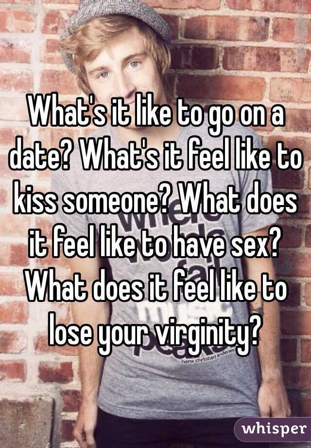 what it feels like to lose virginity