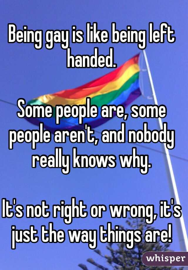 Left Handed Gay 39