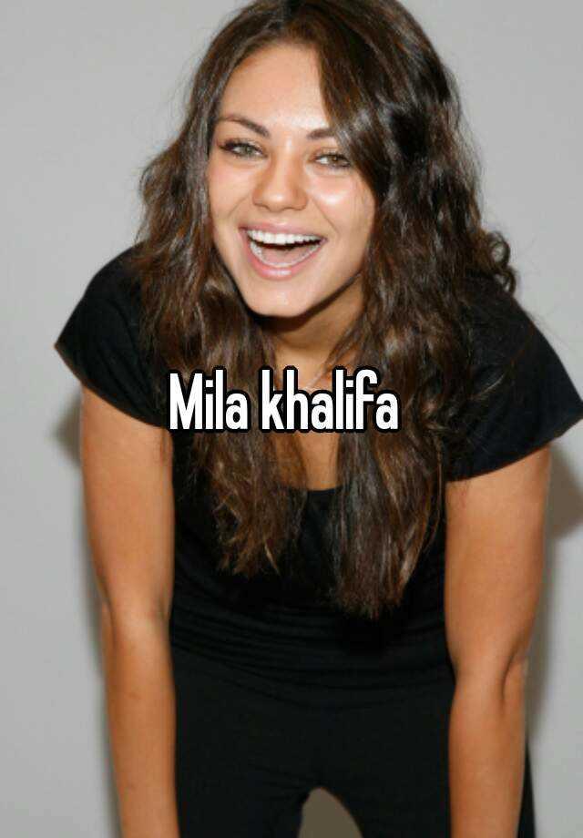 mila khalifa