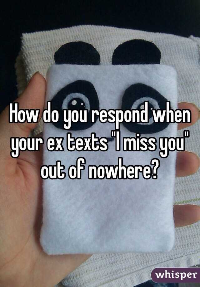 How Do You Know If Your Ex Misses You