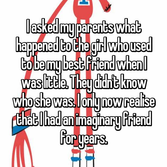 story of an imaginary friend Since going viral, the story of lisa  i decided maybe a story written as a child's journal with an imaginary friend who was, to adults, not so imaginary.