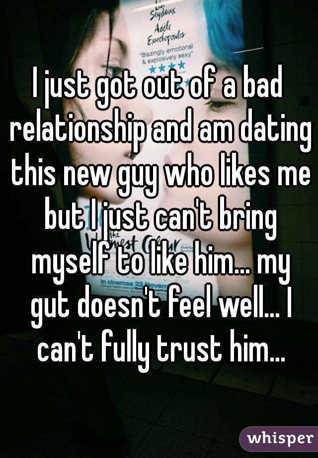 Trust gut dating