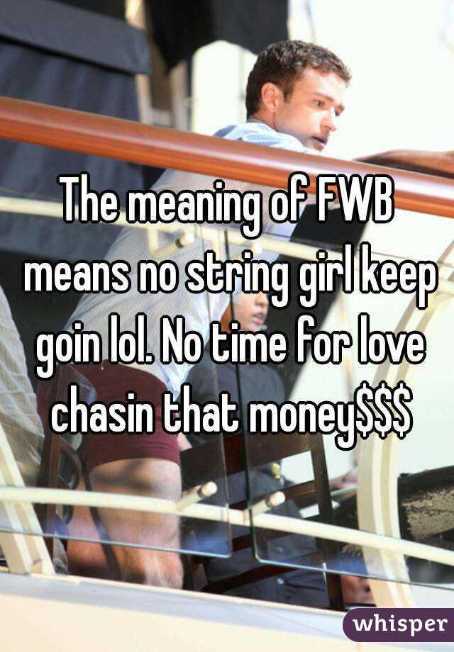 what do fwb mean