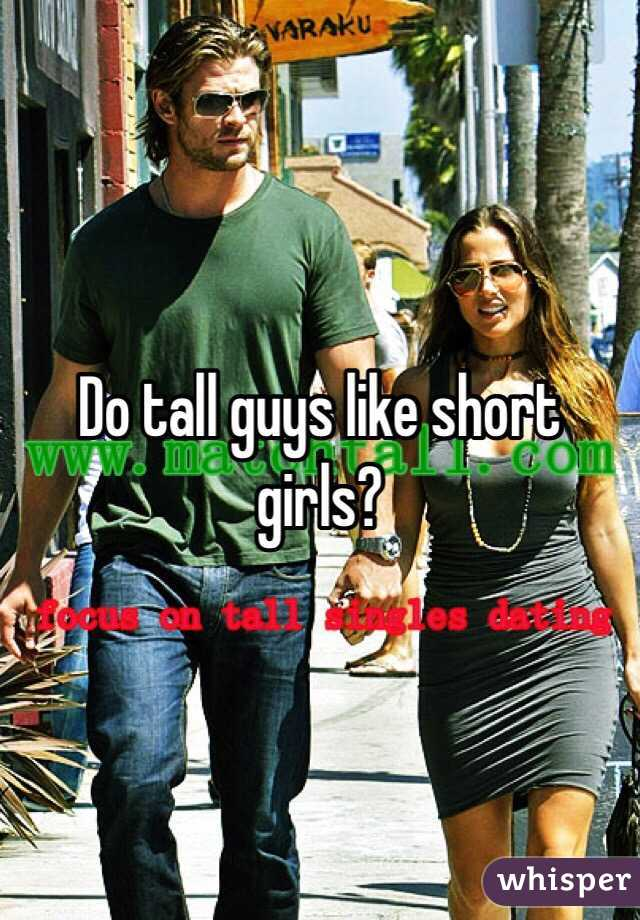 why dating a tall guy is good Dating tall women is never a mans cup of tea there are many reasons why men dislike dating tall women take a look.
