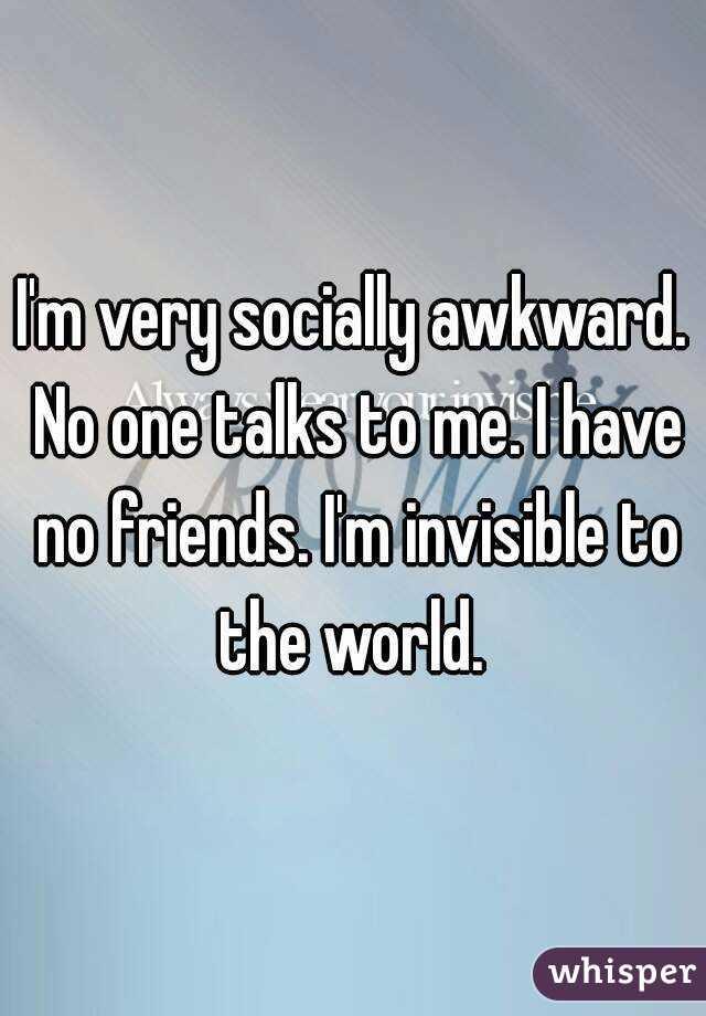 Socially awkward guys dating younger 5
