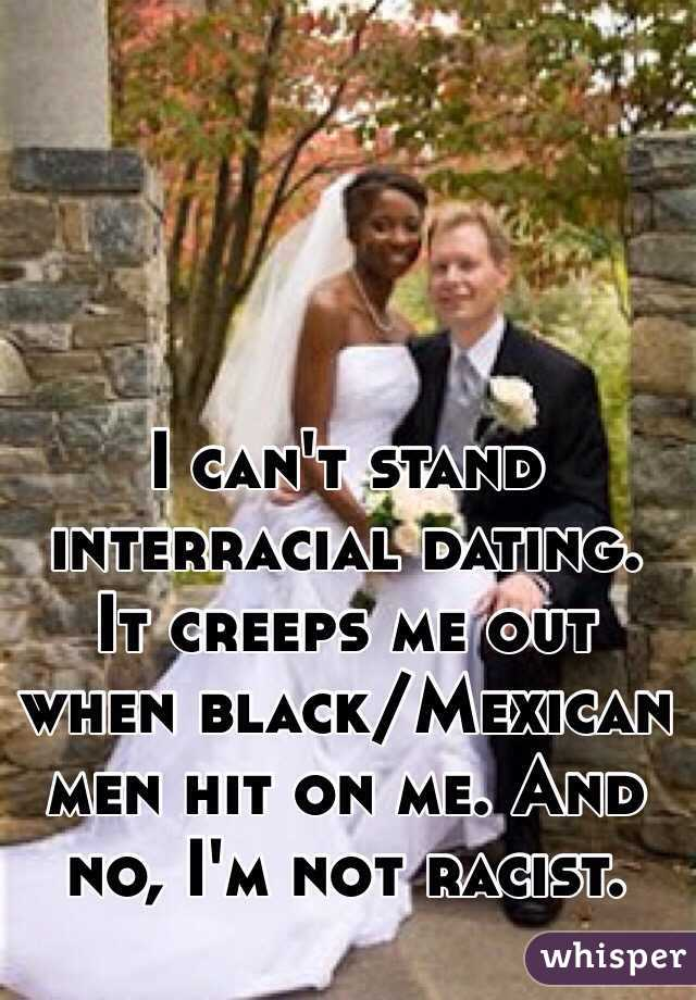 black and mexican interracial dating My boyfriend is mexican and i'm black, it's evident that we are in public he's a dark skin mexican and i'm a medium-dark black girl we get a lot of stares when we go out in public.