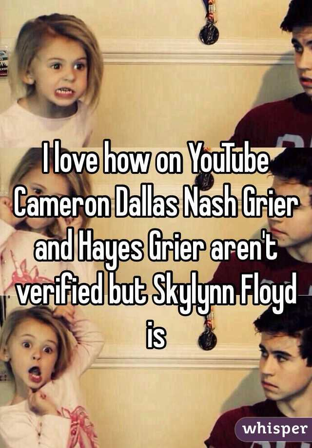 I Love How On Youtube Cameron Dallas Nash Grier And Hayes