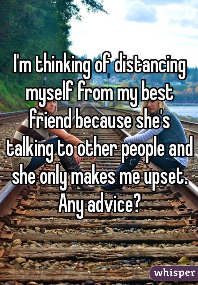I'm Thinking of Distancing