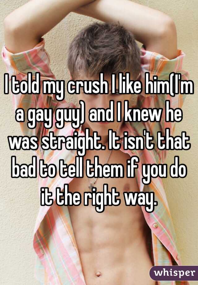 How To Tell If A Guy Likes You Gay