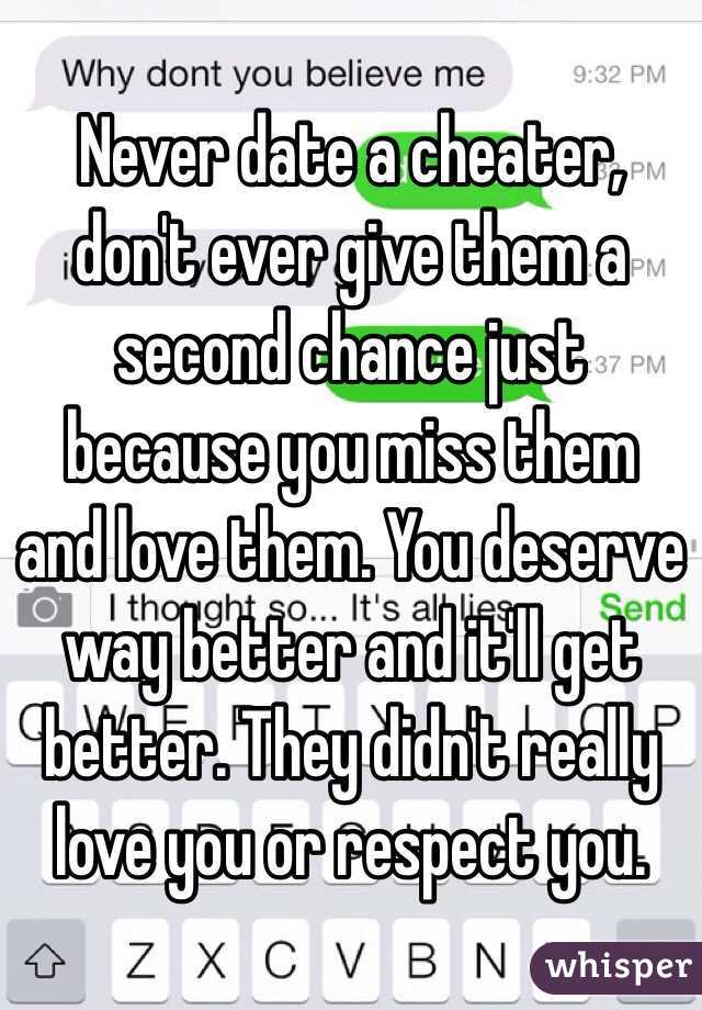 Should You Give A Cheater A Second Chance
