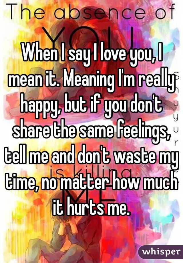 I m in my feelings meaning