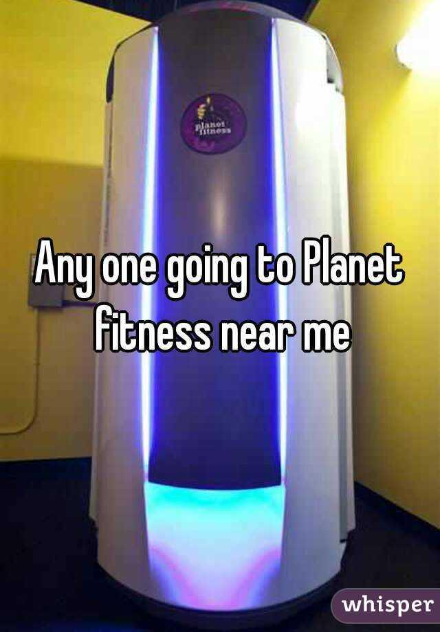 Planet Fitness Near Me Lerne Sefe