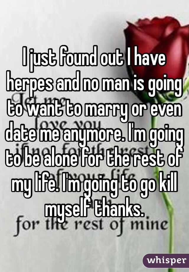 I Want To Kill Myself Because I Have Herpes? 3