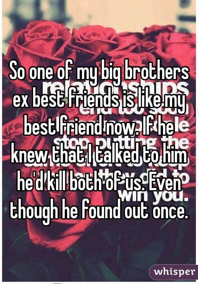Liking Best Friends ex ex Best Friends is Like my