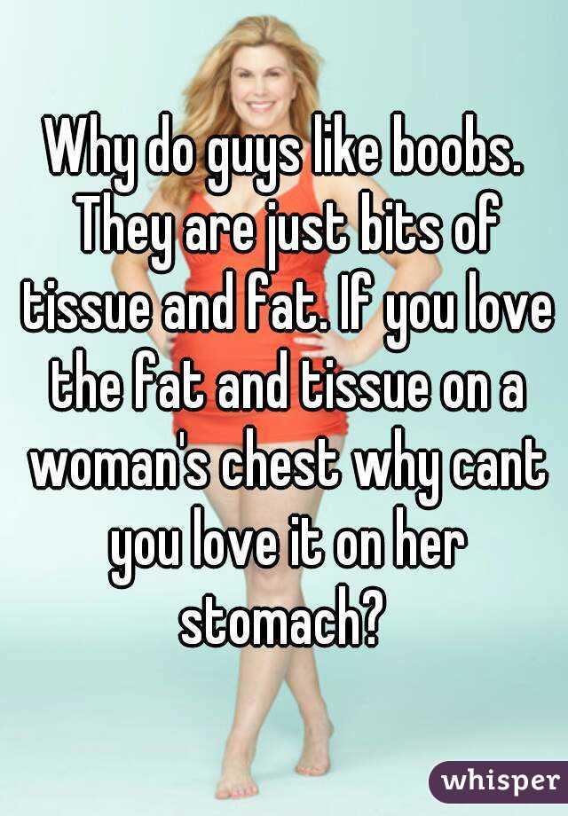 Why guys love boobs