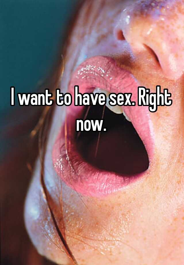 Final, sorry, I need to have sex now opinion