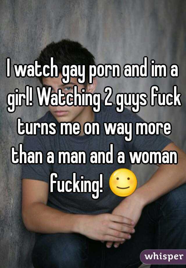 girl watches guys fuck
