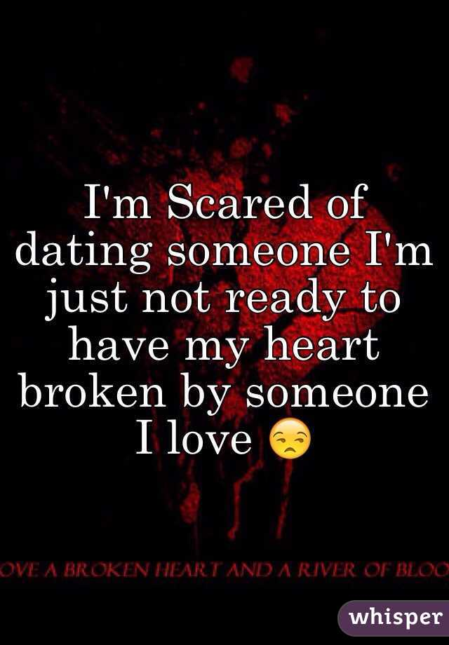 I'm scared of online dating