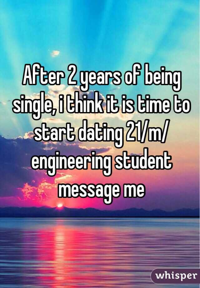 Start dating at 21